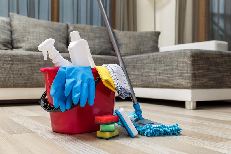 Podstawowe akcesoria do sprzątania